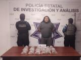 Detiene Policía Estatal a presunto vendedor de ajolotes, anfibio en peligro de extinción